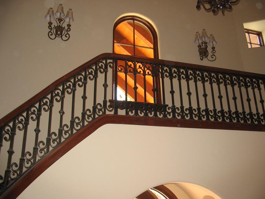 Best indoor balcony railing contemporary amazing house for Inside balcony railing