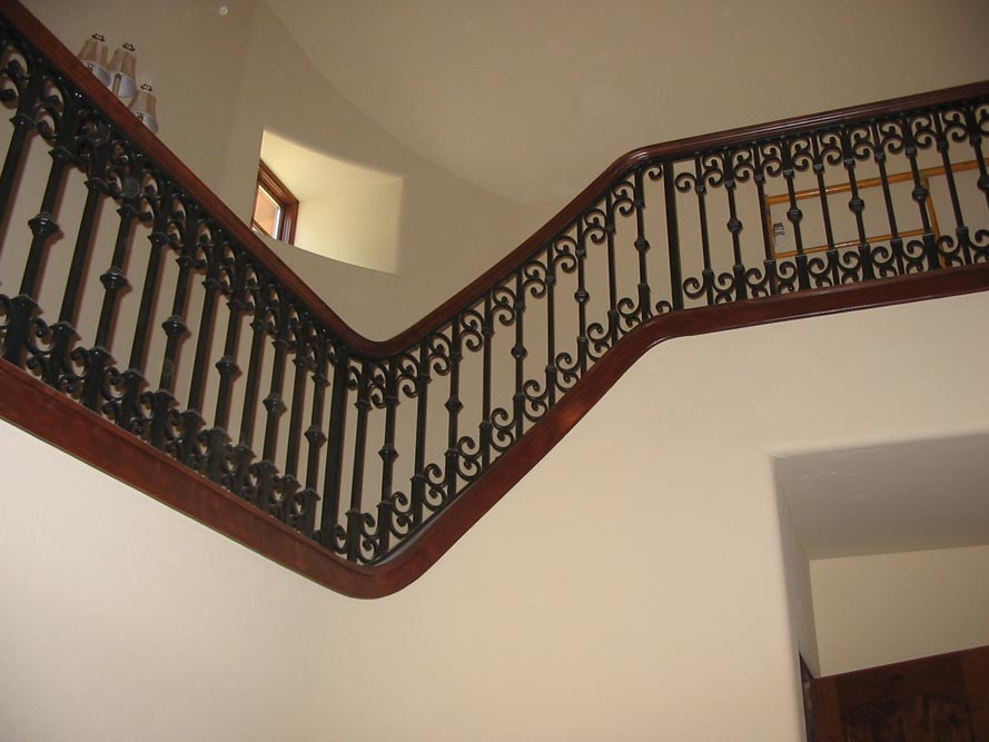 balcony stair railing 4
