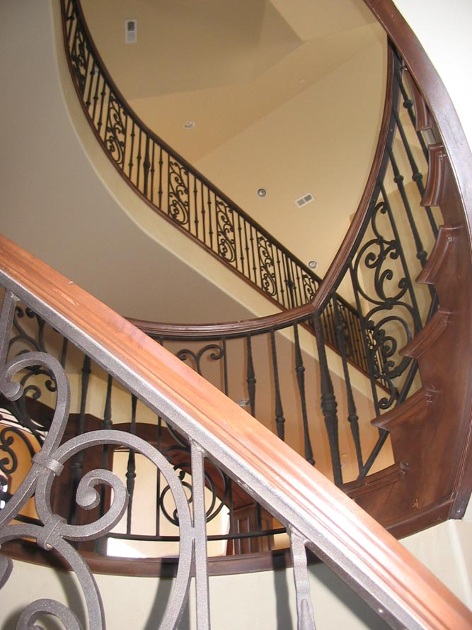 balcony stair railing 5