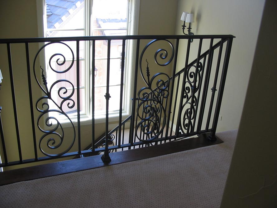 balcony stair railing 9