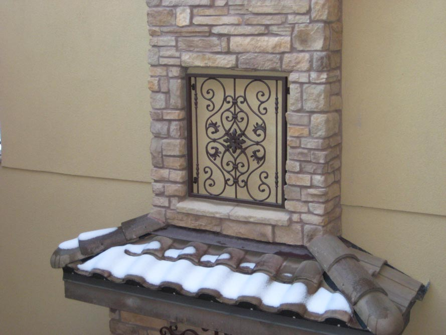 Grill, Chimney Inset