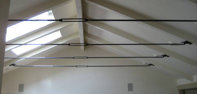 hardware cathedral ceiling rafter ties