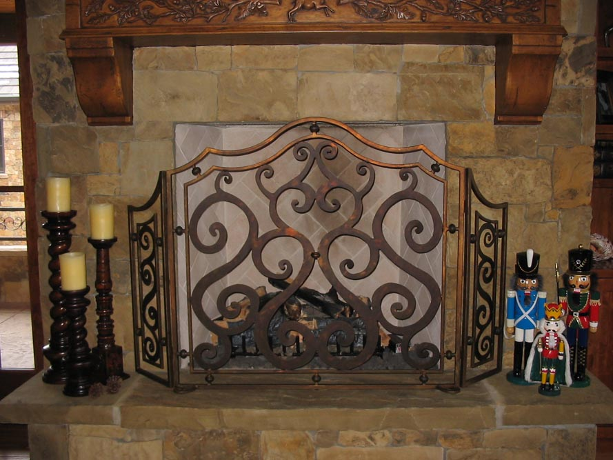 Fireplace Screen 3