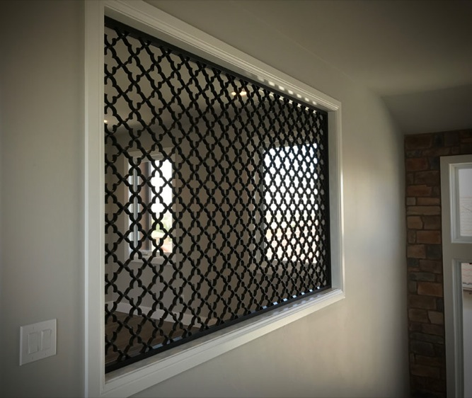 Interior wall grate